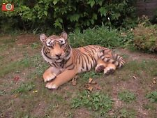 More details for large incredibly life like tiger. ultra real home & garden ornament vivid arts