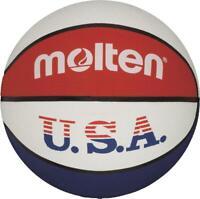molten Basketball Trainingsball Weiß Gr. 5