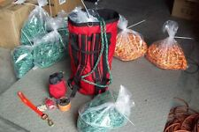 Arborist Throw Bag Kit, Throw Line & Bag,Climbing Rope & Bag, Saw Strap