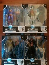 Mcfarlane dc multiverse merciless , complete set of 4 figures,  unopened