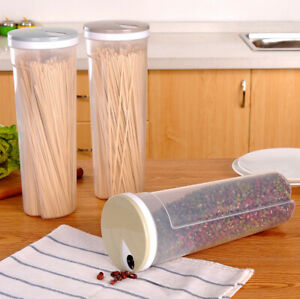 Spaghetti Plastic Noodles Container Grain Cereal Nuts Beans Food Storage Boxes