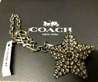 Coach Studded Star Bag Charm Brand new!!