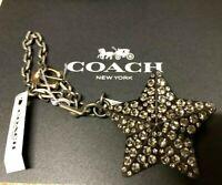 Coach Studded Star Bag Charm Brand new!!