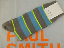 Paul Smith Sock Exquisite K313 PS Classic Multi Stripe Cotton Socks 1 Pair