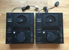 2 x Pioneer CDJ-500 DJ CD Player Deck Turntables / The OG CDJ's