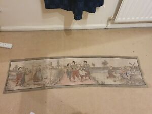 VINTAGE TAPESTRY TABLE RUNNER