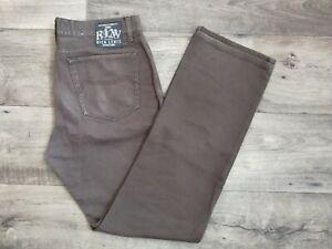 Rica Lewis Since 1928 Jeans Homme Brun Vintage Probable 50/52