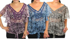 Butterfly Polyester Hand-wash Only Tops & Blouses for Women