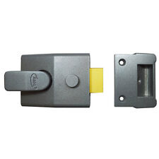Asec As19 interbloqueos nightlatch Cerradura de puerta estándar Estilo 60mm backset as1707