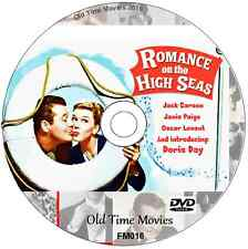 Romance On the High Seas - Doris Day, Jack Carson, Janis Paige Comedy DVD 1948