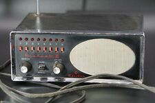 Vintage 1970's Bearcat III Electra  FM Monitor Receiver Police/Fire Scanner