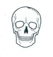 Toppe Patch toppa ricamate termoadesiva moto biker teschio cranio pirata ref2