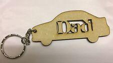 Dad Car Key Ring Ideal Present 3mm Mdf