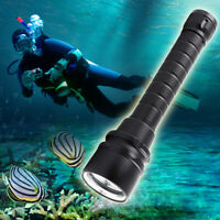 50000LM Powerful 5*T6 LED Diving Flashlight Diving Torch Scuba Waterproof