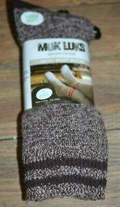 2 Pairs of Super Soft Muk Luks Mens Boot Socks OSFM You Choose Color
