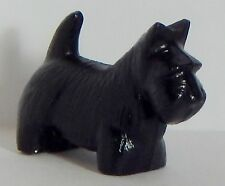 Vintage Scottie Scottish Terrier Plastic Celluloid? Miniature Dog Figurine