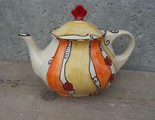 Spülmaschinenfeste Teekannen im Vintage -/Retro-Stil aus Keramik