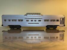 Lionel 2532 Lionel Lines Silver Range Aluminum Vista Dome Observation Car