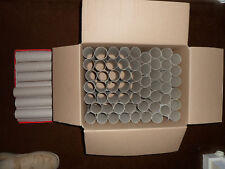 TUBI DI CARTONE x 384 105 mm 4 in (ca. 10.16 cm) ROTOLI igienici Arte, Artigianato, semi di un unico lotto!