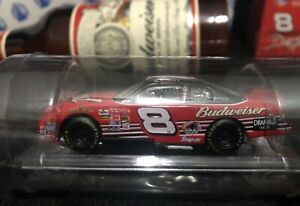 Dale Earnhardt Jr 2002 1/64 Car In A Bottle Budweiser NASCAR Diecast Bud New