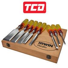 Irwin Chisel Set Marples 8 Piece Limited Edition Split Proof - XMS19CHIS8PC