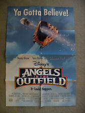 Angels in the Outfield Danny Glover Tony Danza1994 originial poster 2-sided