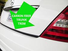 FOR ALFA ROMEO CARBON FIBER TRUNK TRIM TAILGATE Molding Kit