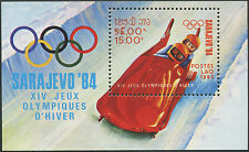 1983 LAOS Bloc N°75** BF jeux olympiques Sarajevo 1984, olympic games Sc#479 NH