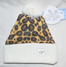 New Ape Sht Natural Leopard Digi Beanie Bobble Hat Made in UK