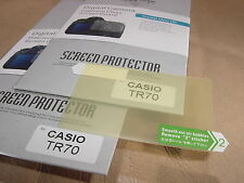 2x LCD Screen Protector for Casio EX-TR70 Digital Cameras NEW
