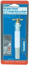 New Rv Water Heater Anode Rod With Drain camco 11533