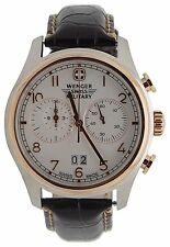 """Wenger Swiss Army Rose Gold """"Zermat"""" Chronograph Watch 79020"""