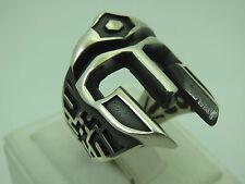 Turkish Handmade Jewelry 925 Sterling Silver Gladiator Design Men's Ring Sz 9