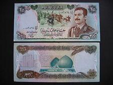 IRAQ  25 Dinars 1986  (P73a)  AUNC