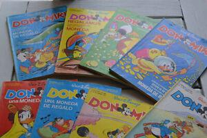 Cómics Disney, Don Miki lote nºs. 54-61 (1977) -- Dinastía de los Patos, Patomas
