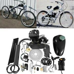 50cc Bicycle Motor Kit Bike Motorized 2 Stroke Petrol Gas Engine Set UK