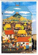 "AK, Berlin Lichtenberg, Wandgemälde ""Nicaragua - Monimbo 1978"", um 2010"