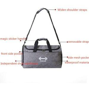 Dry and Wet Separation Sports Training Fitness Bag Duffel Bags Handbag