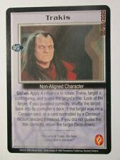 1999 Babylon 5 Ccg - Severed Dreams - Rare Card - Trakis