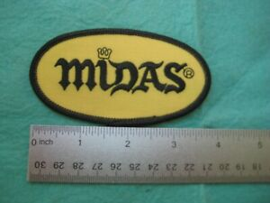 Midas Technician Service Dealer   Hat  Uniform  Patch