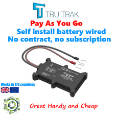 GPS Vehicle Tracking device - Van Motorbike Coach Car Tracker - Pay as You Go