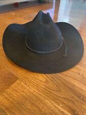 Stetson Cowboy Hat Garth Brooks Tyler 7 3/8 Wf2210 4X Black With No Box