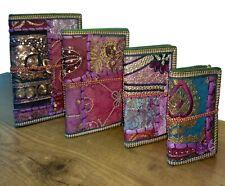 Indian Handmade Designer Small Pocket Diary Set Unique Sketch Notebook 4pc Set