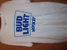 Hockey Bud light white graphic XL t shirt