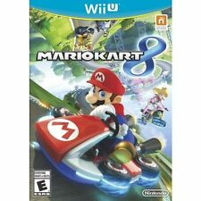 Mario Kart 8 (Nintendo Wii U, 2014) Complete with manual