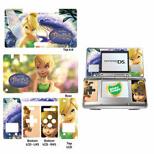 Disney Tinkerbell Vinyl Skin Sticker for Nintendo DS Original