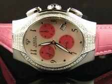 Lady Aqua Master/Joe Rodeo Swiss 100 Diamond Watch 1.25