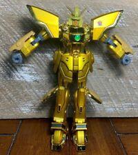 "Sotsu Agency Sunrise Bandai 2001 Gold Gundam Action Figure 7"""