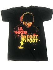 Lil Wayne Tour T-Shirt Size S Concert 6 Foot 7 Foot 2011 Young Money Small