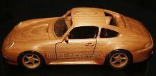 PORSCHE 911 CARRERA 993 WOOD CAR BIKE MODEL MODELLISMO LEGNO AUTO MOTO